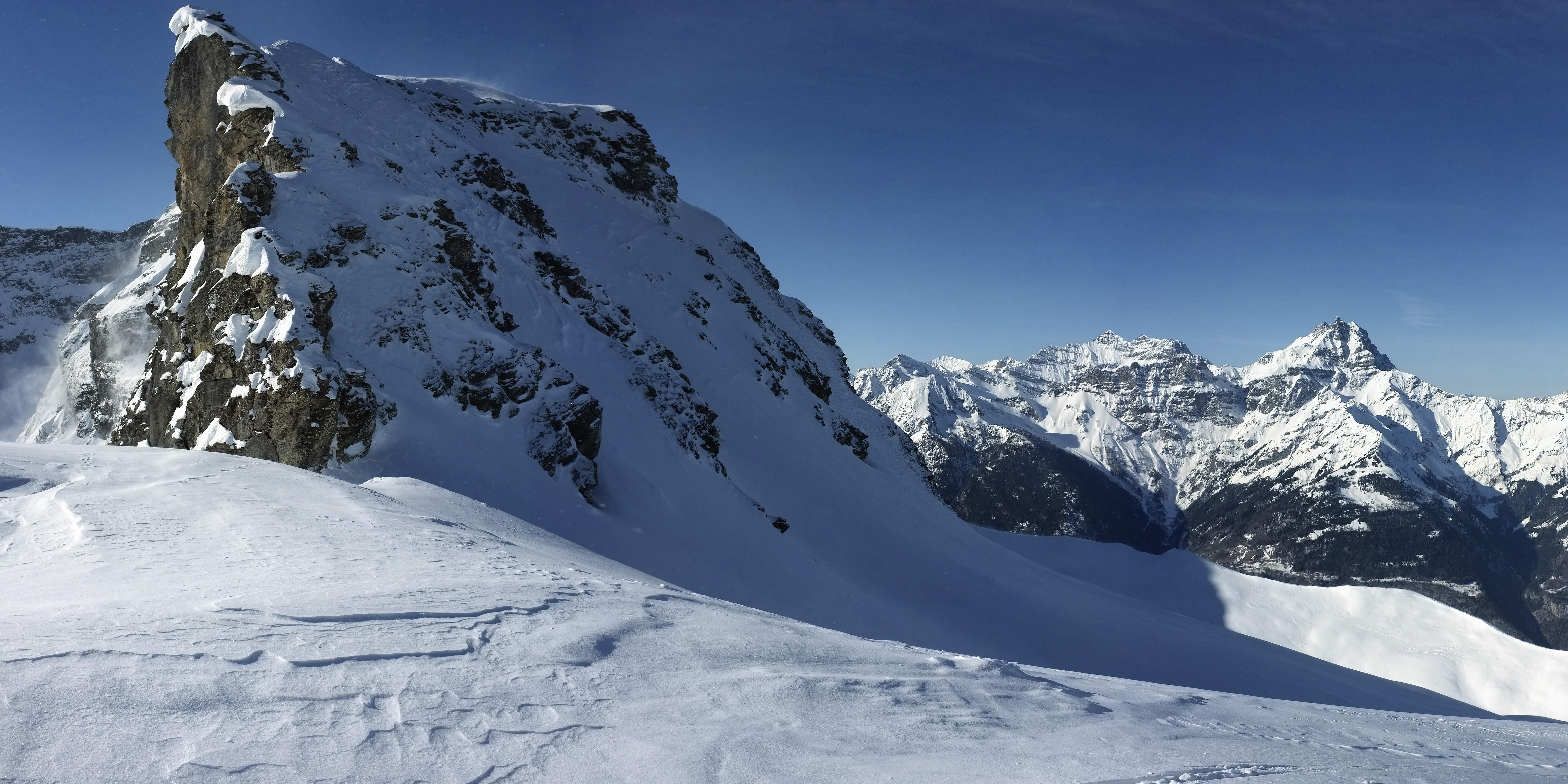 2013-03-16 Pointe de Pré Fleuri, Alpes vaudoises